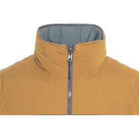 Patagonia Reversible Bivy - Chaleco Hombre - gris/marrón